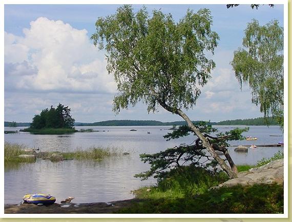 Åsnensee am Getnö Gard Campingplatz