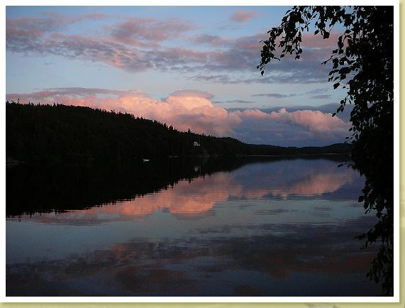Abend am Ragnerudssjön