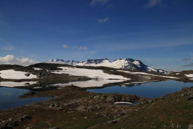 Fahrt über den Sognefjellsvegen, lohnt sich!!!